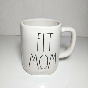 Rae Dunn Fit Mom Mug NEW